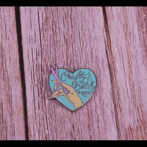 3/$20 - Crafty B*tch Enamel Pin
